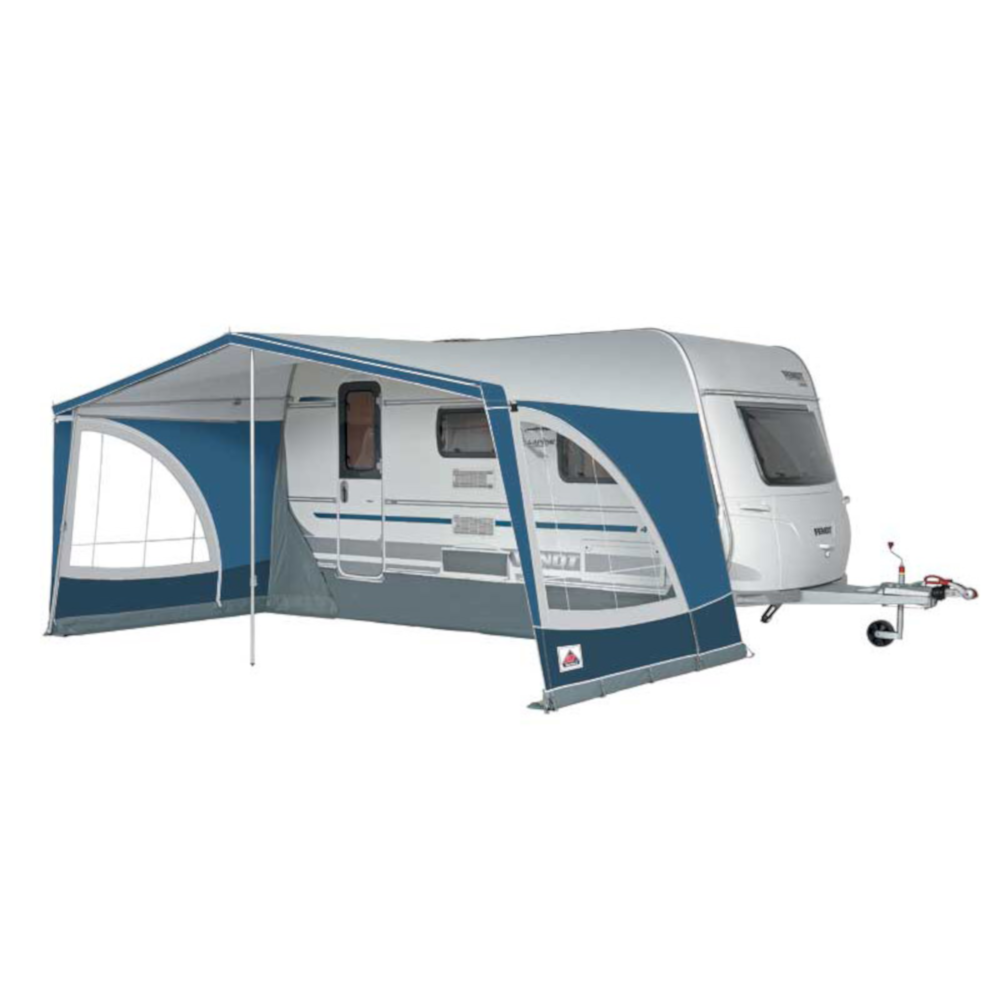 doream caravan awning sun canopy multi nova front panel removed