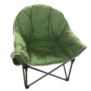 TC6167 crusader  comfort camping chair with carry bag green