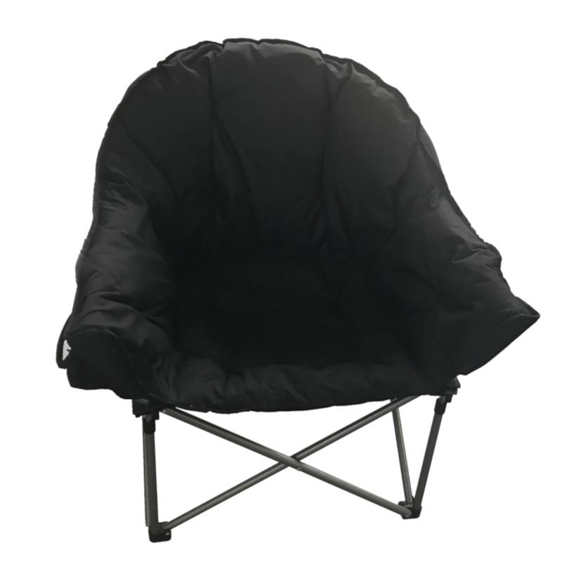 TC6167 crusader  comfort camping chair with carry bag black