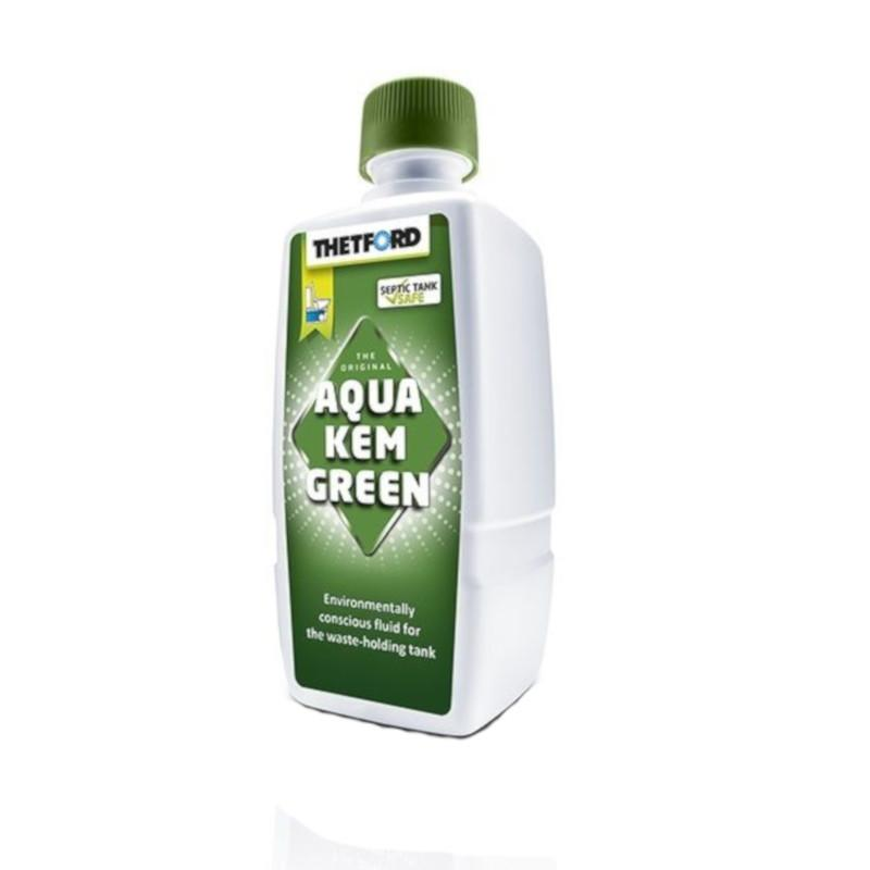 thetford aqua kem green liquid for waste holing tanks 375ml