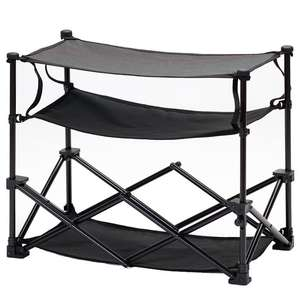 isabella awning storage folding shoe rack
