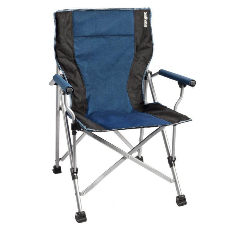 brunner raptor camping chair blue black