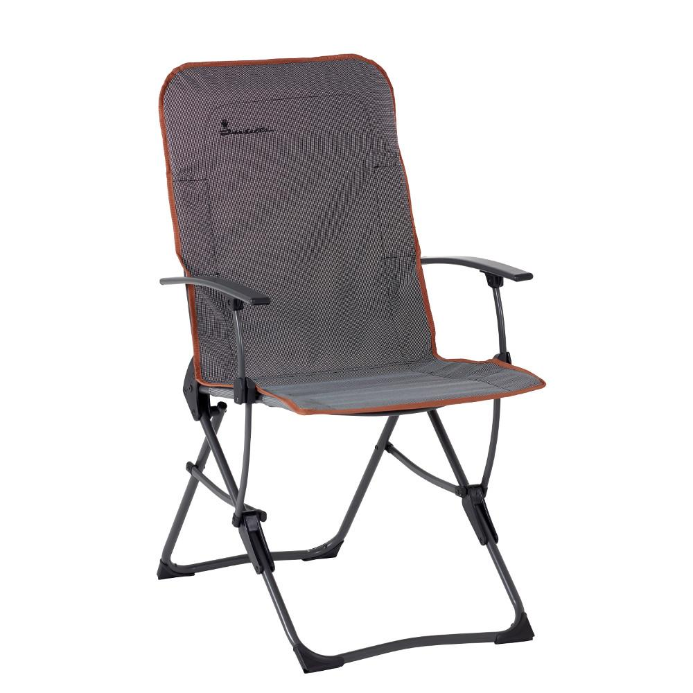 isabella folding camping chair badder north