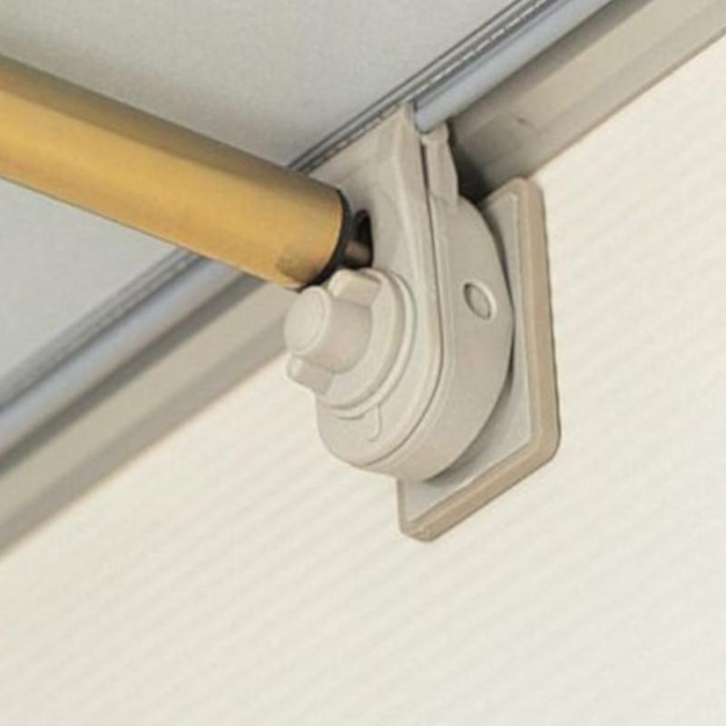 dorema caravan awning quick lock pads in use