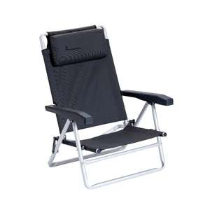 isabella folding camping beach chair with headrest
