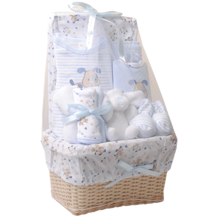 Newborn Gift Basket (blue)