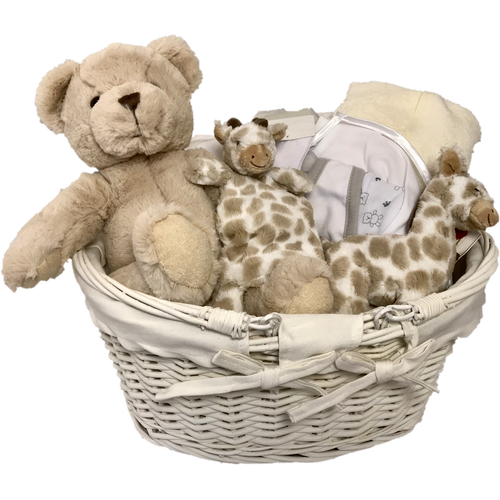 Baby Joy Gifts - Neutral baby gift basket