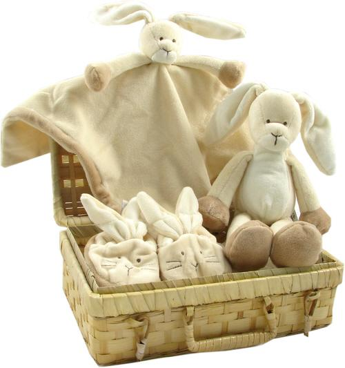 Pat a Cake baby gift basket (Neutral)