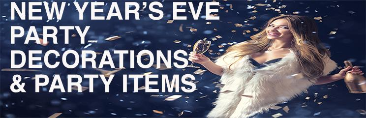 New Year's Eve Party Decorations & Party Items