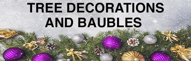 Tree Decorations and Baubles