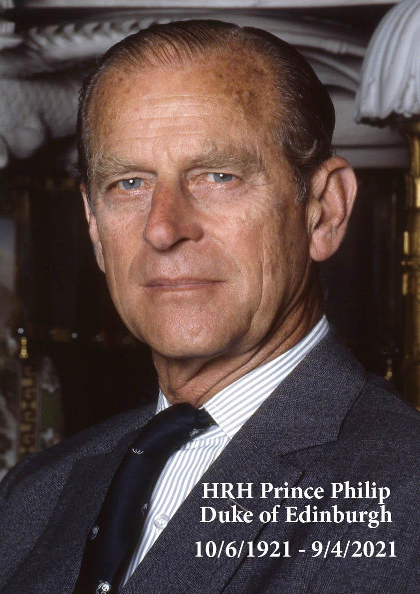 HRH Prince Philip,  Duke of Edinburgh Commemorative Decor Package