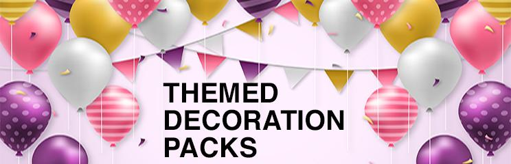 Themed Decoration Packs