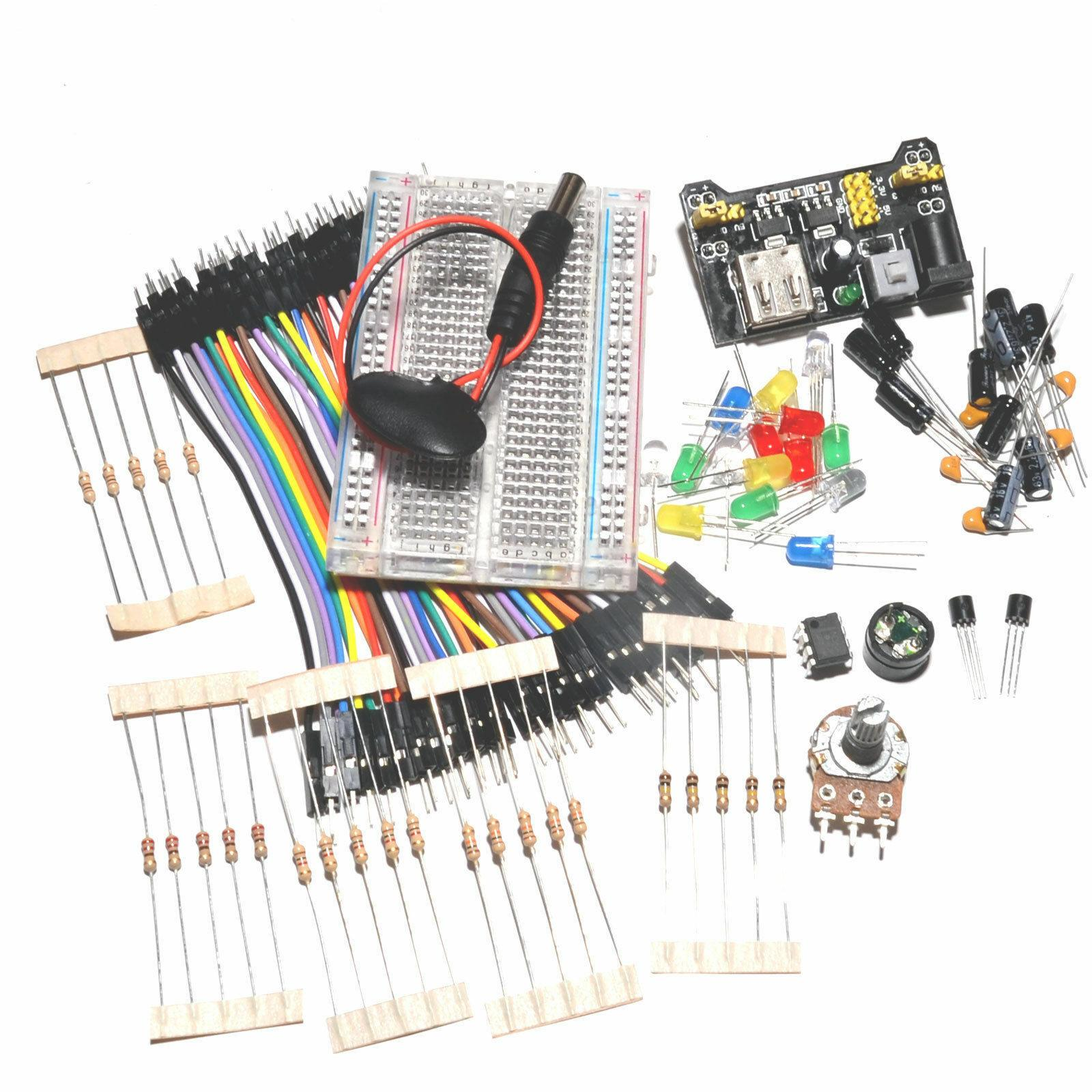/& project book Beginners electronic starter kit including components