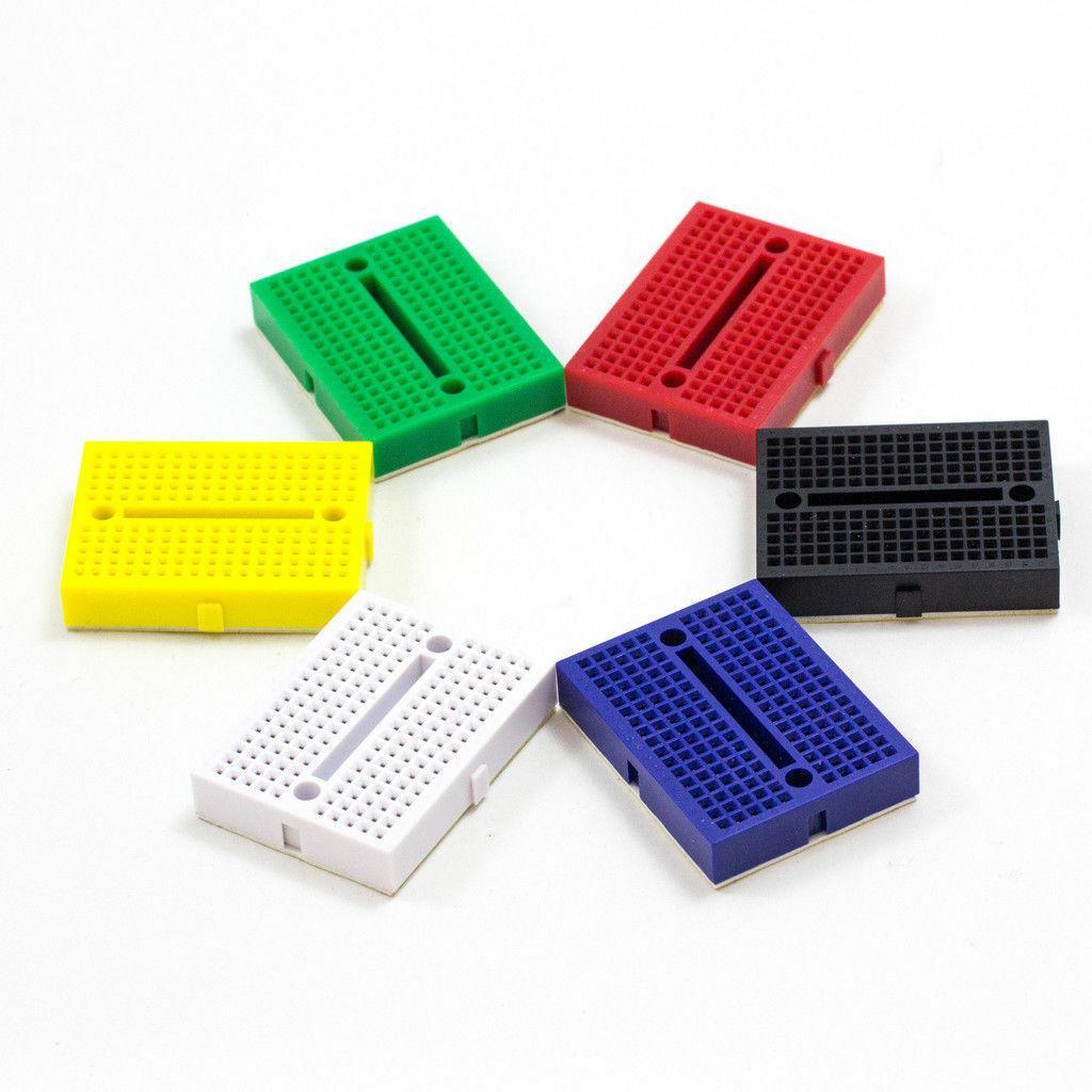5 Color Mini Solderless Prototype Breadboard 170 Tie-points For Shield