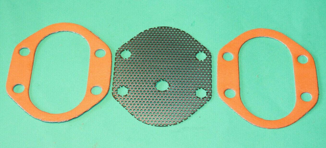 TRIUMPH  5T 6T T100 T110 T120 SUMP FILTER PLATE PAIR OF GASKETS 70-0487 E487 UK
