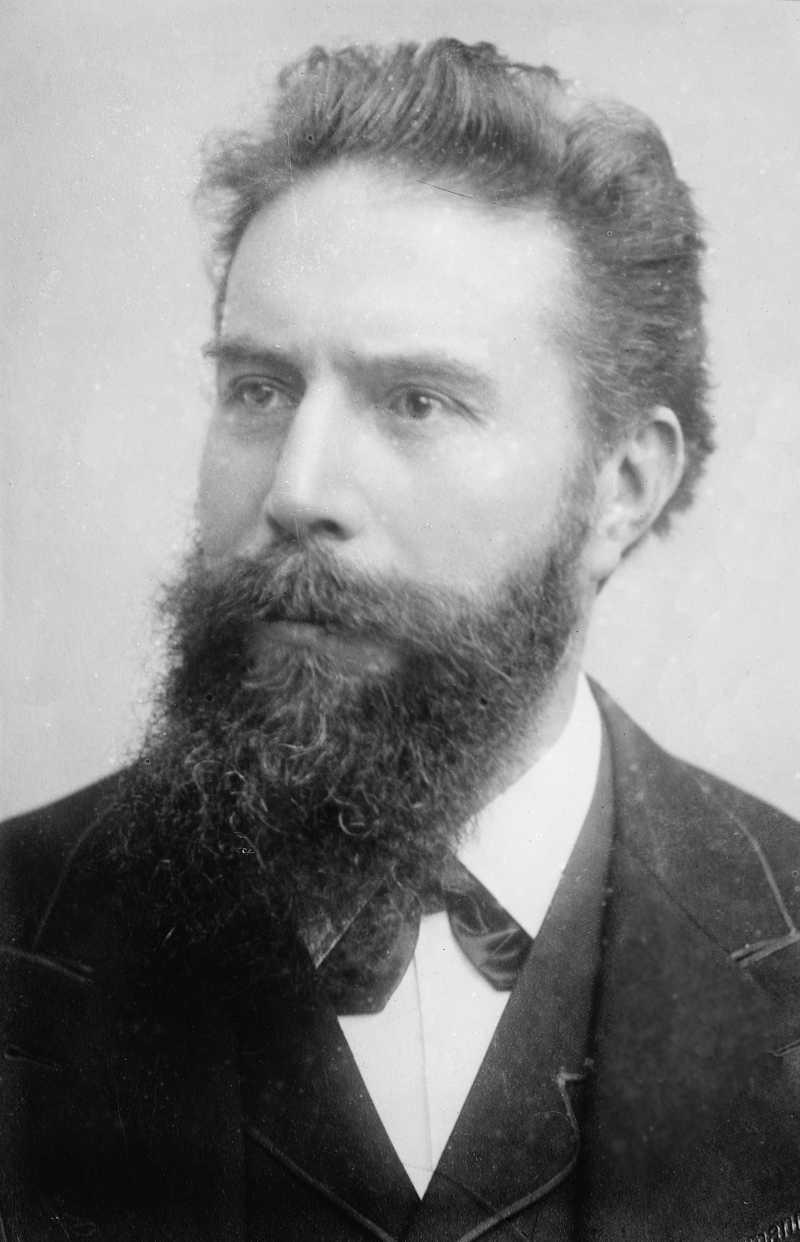 Wilhelm Conrad Roentgen circa 1900