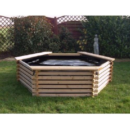 Norlog 300 Gallon Pond with Liner