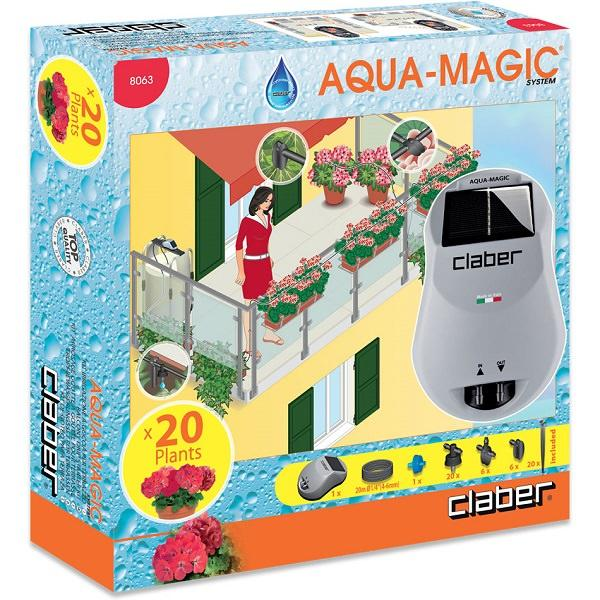 Claber Aqua Magic Solar Power Drip Irrigation System - 8063