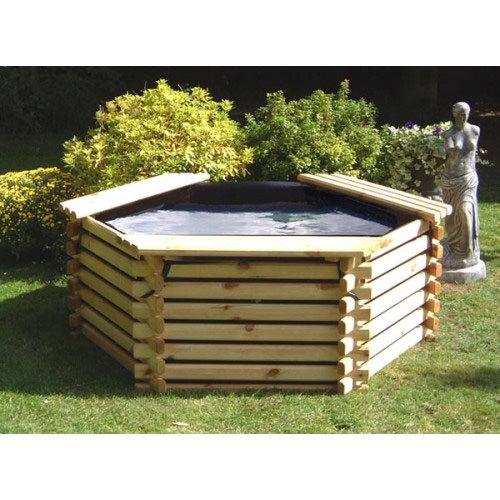 Norlog 175 Gallon Pond with Liner