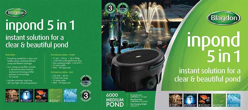 Blagdon All In One Pond Pump and Filter 6000