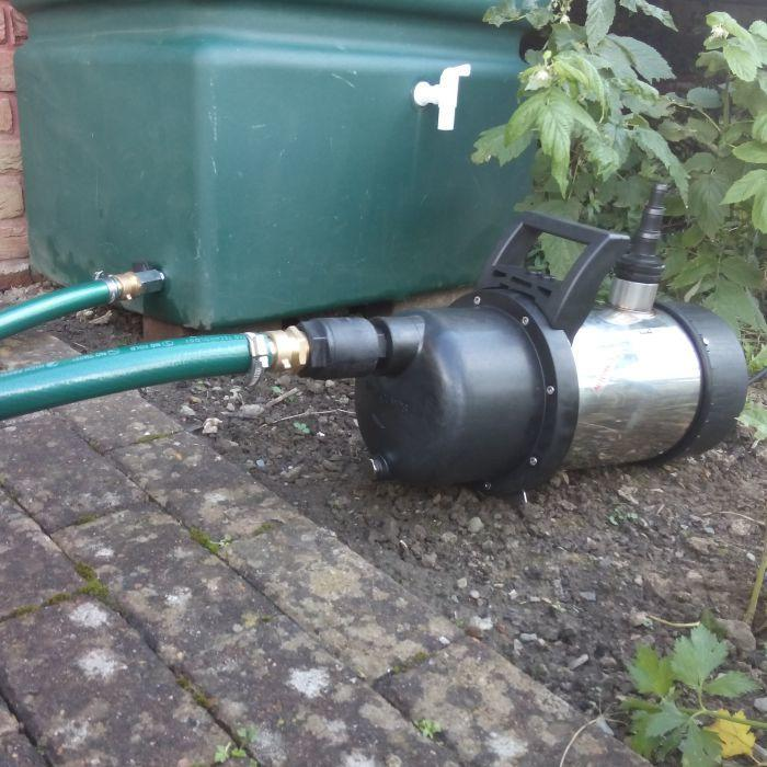Garden Steel Pump with Tank Connector