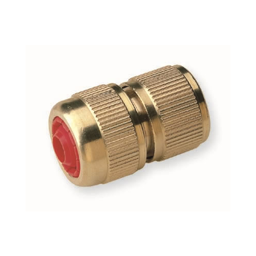 Brass Quick Connector with AutoStop 1/2