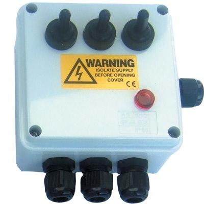 3 Way Weatherproof Electric Junction Box