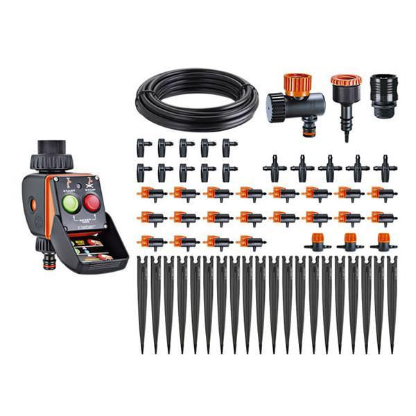 Claber Irrigation Dripper Kit with Pratico Timer - 90763