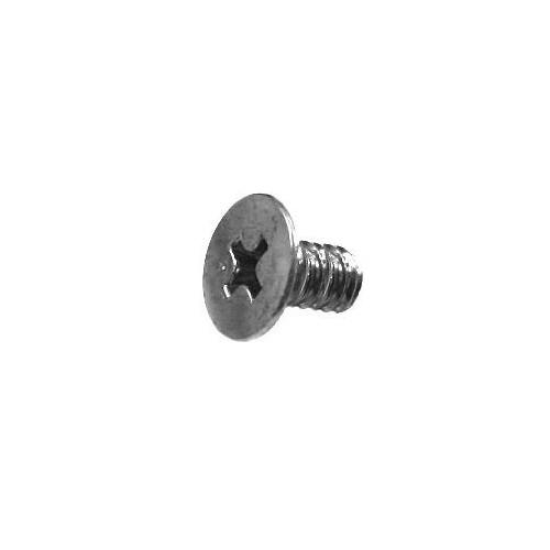 Screw for solenoid assembly