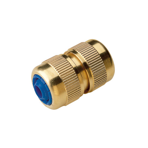 Brass Quick Connector with AutoStop 3/4