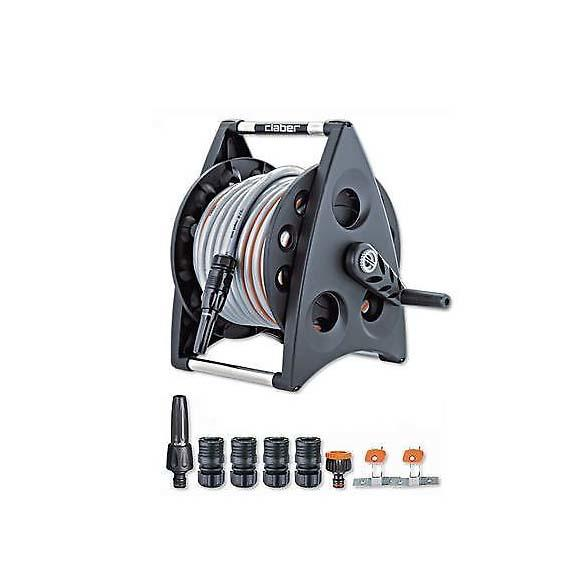 Claber Kiros Hose Reel Kit 30m Contents