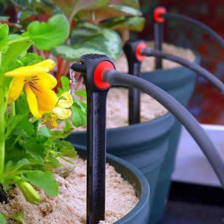 drip irrigation for planters