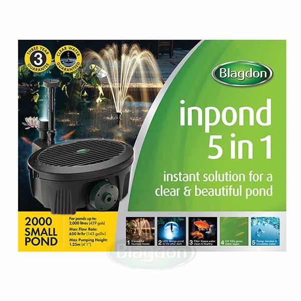Blagdon all in One Pond Pump and Filter 2000
