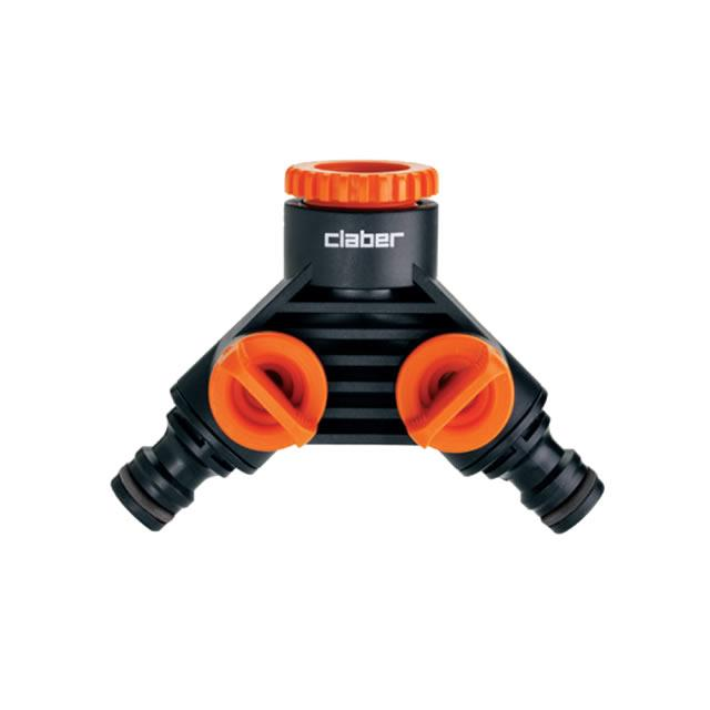 Claber Double Tap Connector - 8599