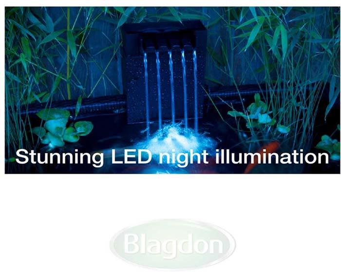 Blagdon Affinity View Corner Pond - 1057622 LED