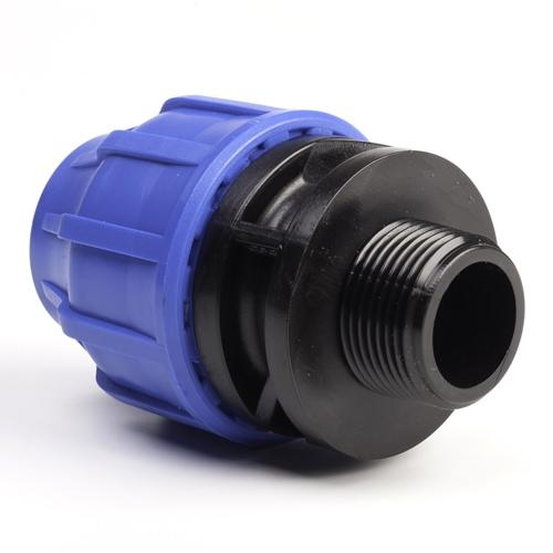 "MDPE Male Adaptor 20mm with 3/4""BSP Thread"