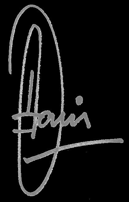 Dani Zargel, Founder & CEO signature