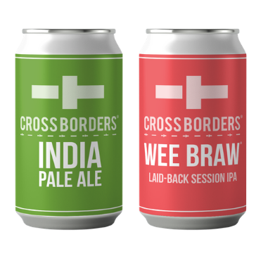 Wee Braw and IPA cans