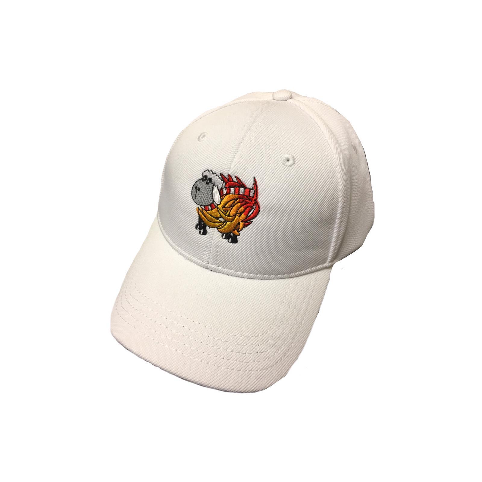 White Sheep On Fire Cap
