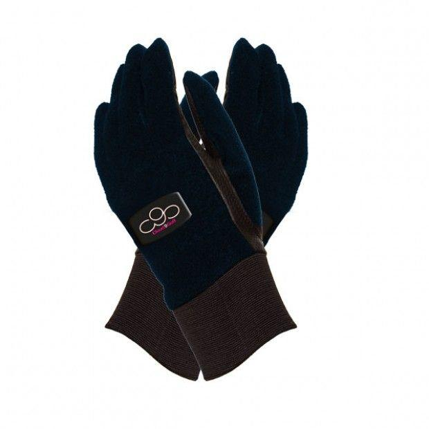 Navy Winter Gloves