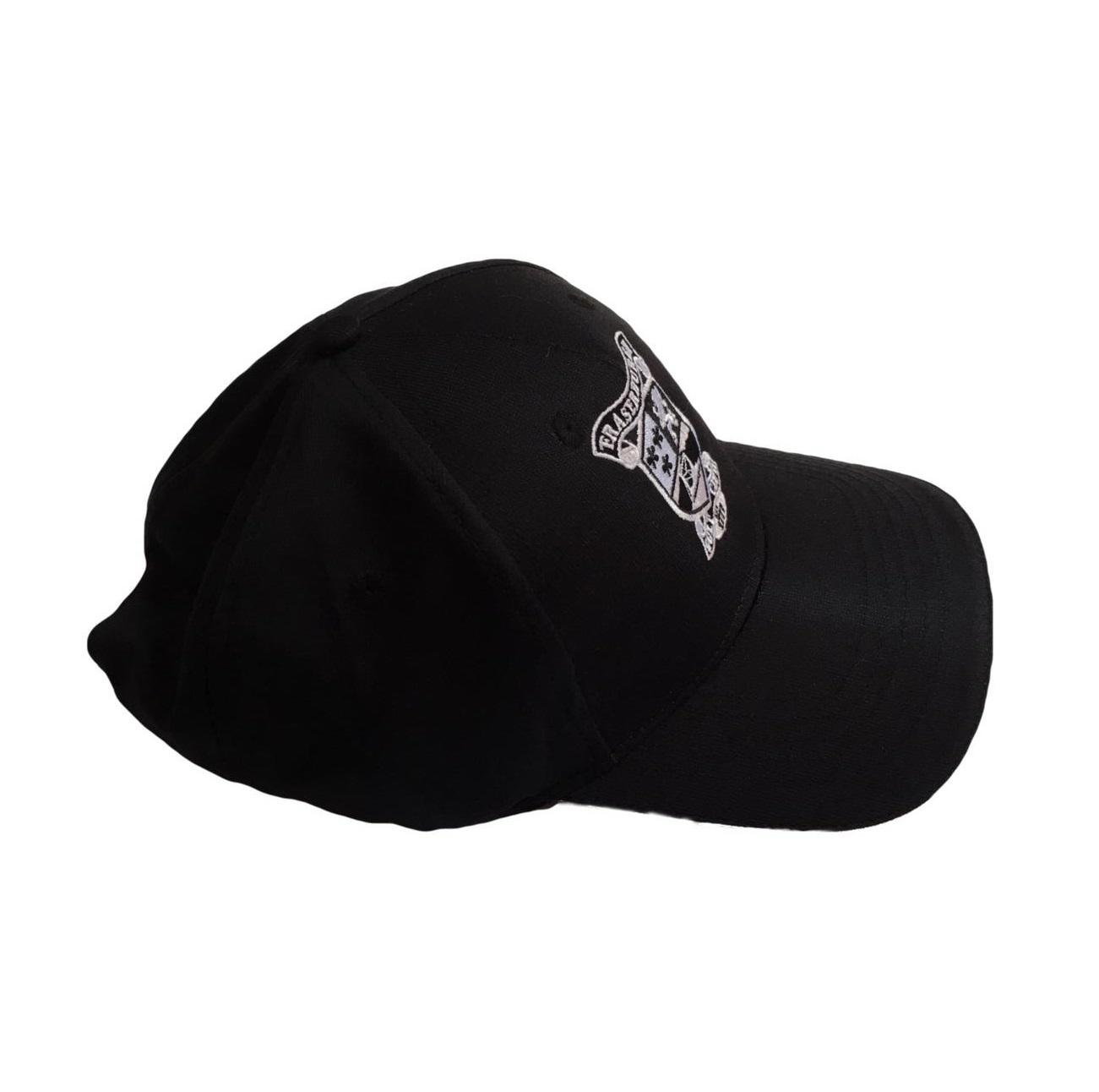 Fraserburgh Golf Club Microtech Cap Black Side