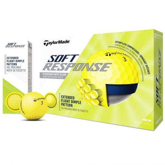 Tayormade Soft Response Golf Balls Yellow