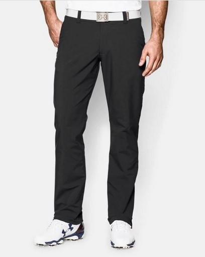 UA Matchplay Trousers Balck Front