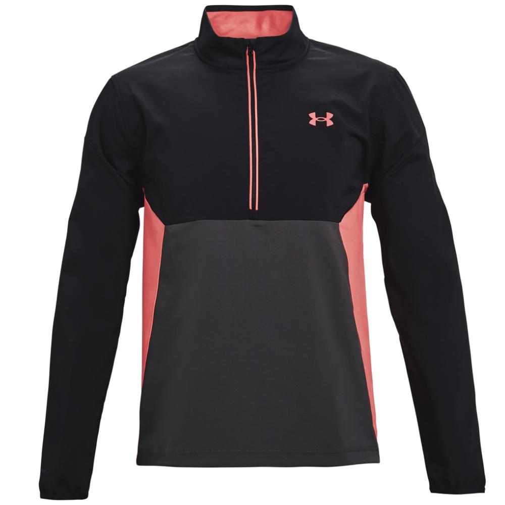 UA Storm Windstrike 1/2 Zip Black/Jet Grey 1361863