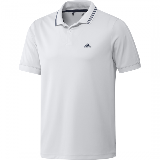 Adidas GO-TO Pique Polo White/Navy GS9475