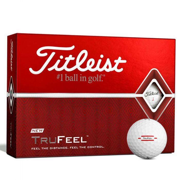 Titleist TruFeel White Golf Balls