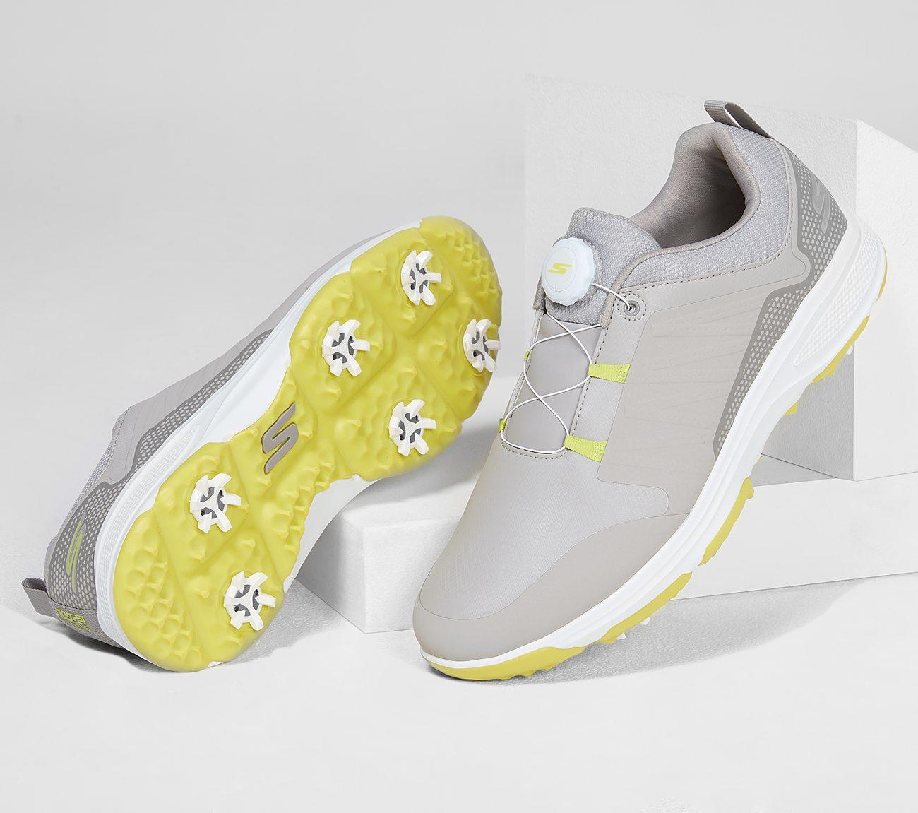 Skechers Go Golf Torque Twist 54551 Grey Lime