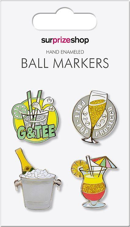 Its 5 OClock Somewhere Ball Marker set