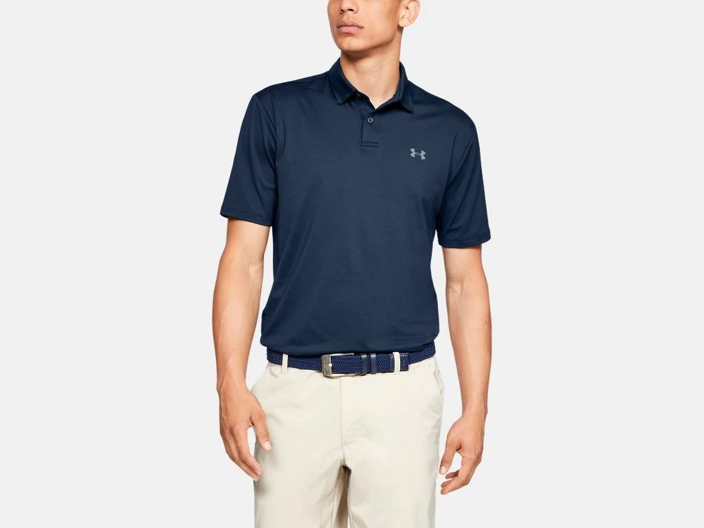 UA Performance Polo Navy 1342080