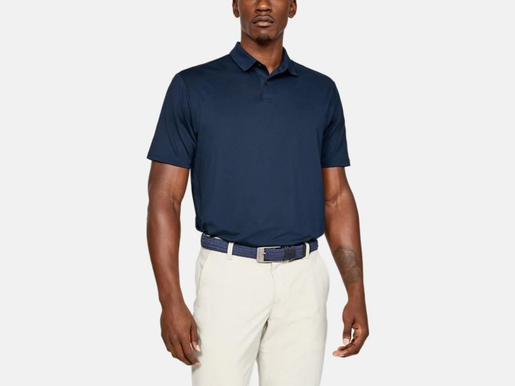 UA Crest Performance Polo Navy 1327045